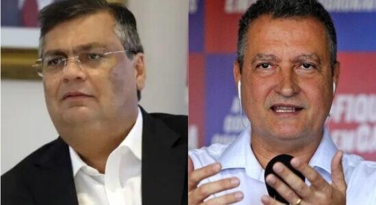 Flávio Dino e Rui Costa entraram com processo contra Bolsonaro