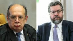 Gilmar e Araújo discutiram em inglês nas redes sociais