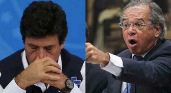 Guedes diz que o governo Federal liberou recursos na gestão de Mandetta