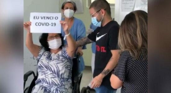 Mãe de Yudi recebe alta hospitalar após lutar contra a covid-19