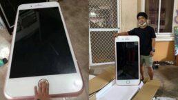Jovem compra Iphone barato na internet e recebe réplica gigante