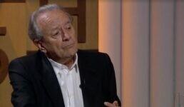 Jornalista Mario Sergio Conti apresentado programa na GloboNews, em 2019