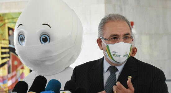 Ministro da Saúde, Marcelo Queiroga