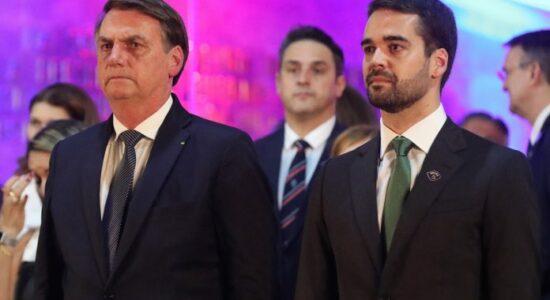 Presidente Jair Bolsonaro fez críticas ao governador do RS, Eduardo Leite