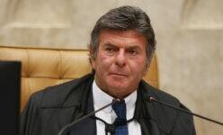 Presidente do STF, ministro Luiz Fux