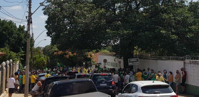 Manifestação em São Carlos/SP