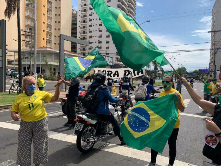 Manifestação em São José do Rio Preto/SP
