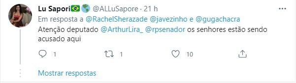 Internautas criticaram publicação da jornalista no Twitter