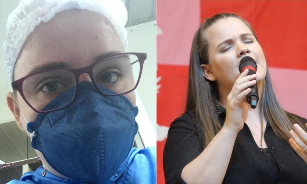 Thalita desabafa acerca de seu trabalho de enfermeira em tempos de pandemia