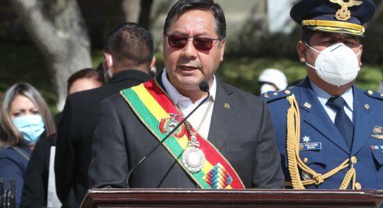 Presidente da Bolívia, Luis Arce