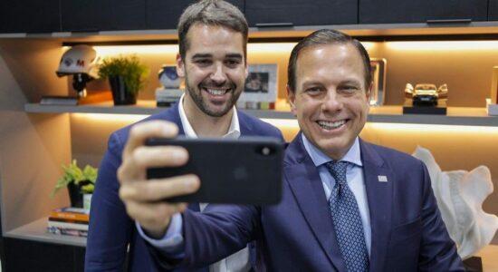 João Doria e Eduardo Leite