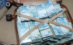 Polícia Federal apreende em Goiás mala com mais de R$ 800 mil durante operação contra fraudes no auxílio emergencial