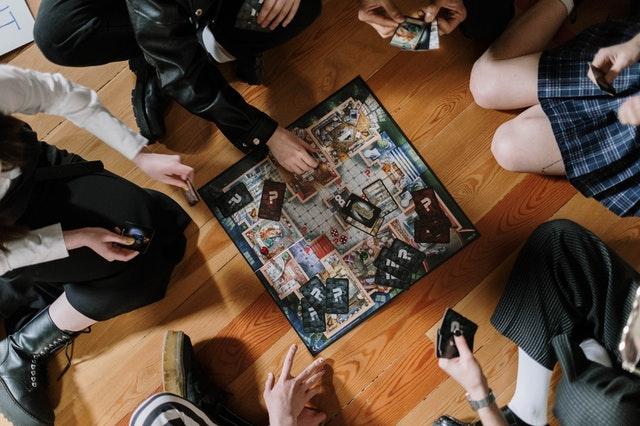 Jogos de tabuleiro entre amigos