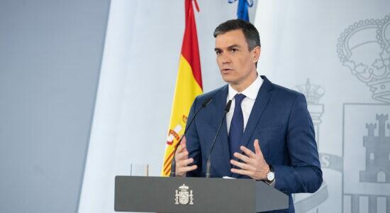 Pedro Sánchez, presidente da Espanha
