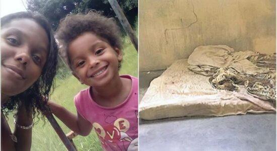 Menina Ketelen Vitória, de 6 anos, foi torturada e espancada pela mãe e pela madrasta