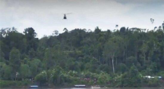 Acidente de helicóptero deixou ao menos 5 militares mortes, no Sul do Peru
