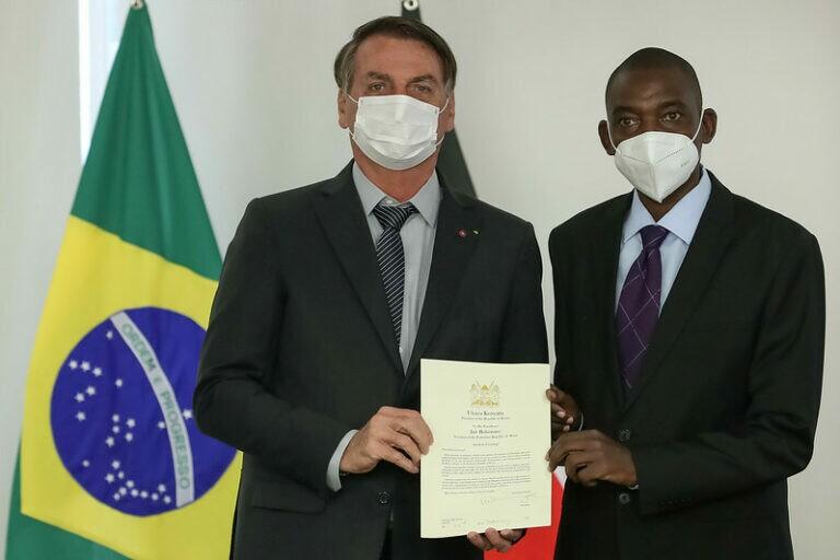 Cerimônia de Apresentação de Cartas Credenciais dos novos Embaixadores
