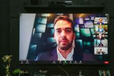 Fórum de Governadores em videoconferência com representante da ONU