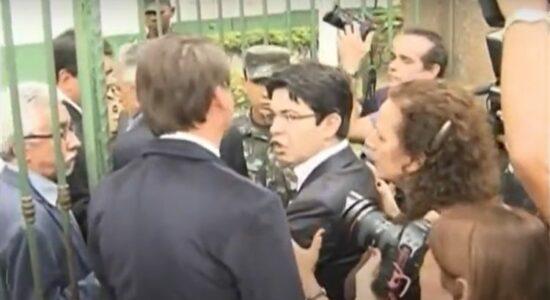 Bolsonaro e Randolfe discutiram em 2013