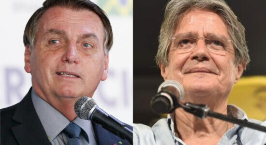 Bolsonaro parabenizou Guillermo Lasso por vitória no Equador