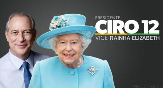 Ciro Gomes vira piada após carta de condolências à rainha Elizabeth