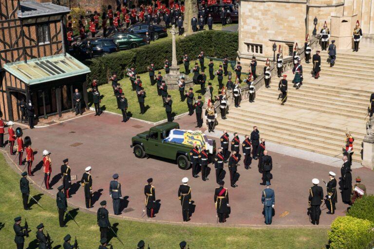 Funeral do príncipe Philip, no Castelo de Windsor