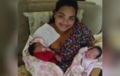Mãe é intubada com Covid-19 após parto e só conhece gêmeas 24 dias depois