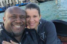 Irmão Lázaro ao lado da esposa Vânia Silva