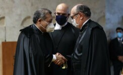 Nunes Marques negou pedido de impeachment contra Gilmar Mendes