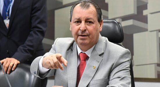 Senador Omar Aziz (PSD-AM) é o presidente da CPI da Covid