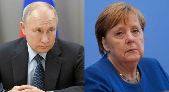 Putin e Merkel