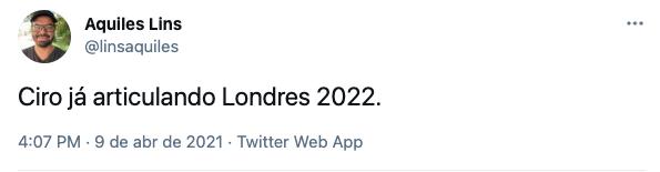 Ciro Gomes vira piada após enviar carta de condolências à rainha Elizabeth II