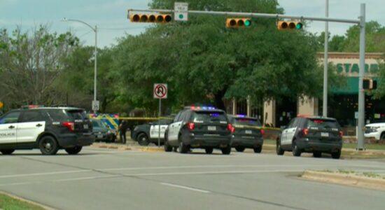 Local onde ocorreu um tiroteio em Austin, no Texas