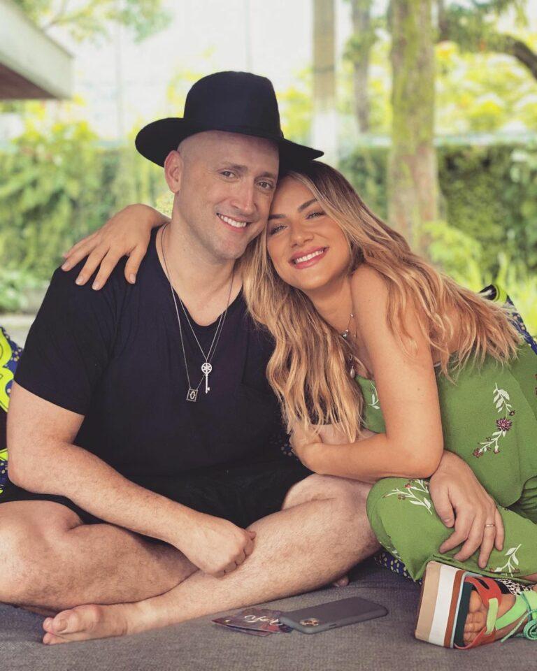 Paulo Gustavo e Giovanna Ewbank
