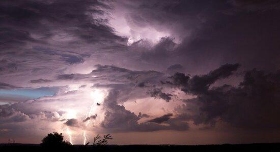Passando pelo temporal