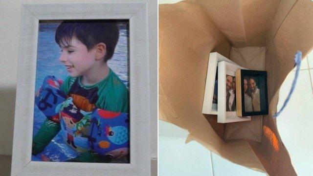 caso henry porta-retratos