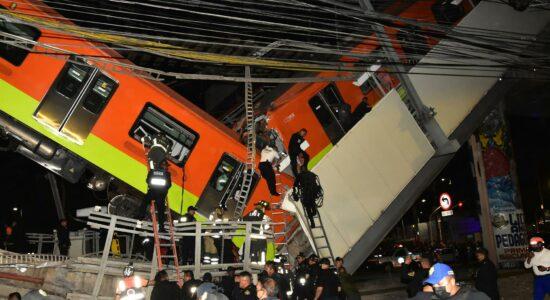 Acidente na Cidade do México deixou 23 mortos e mais de 60 feridos
