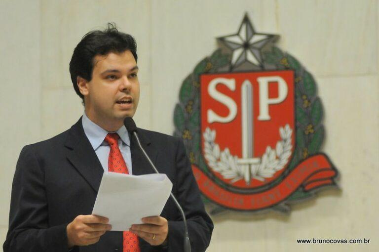 Bruno Covas no Plenário em 2008