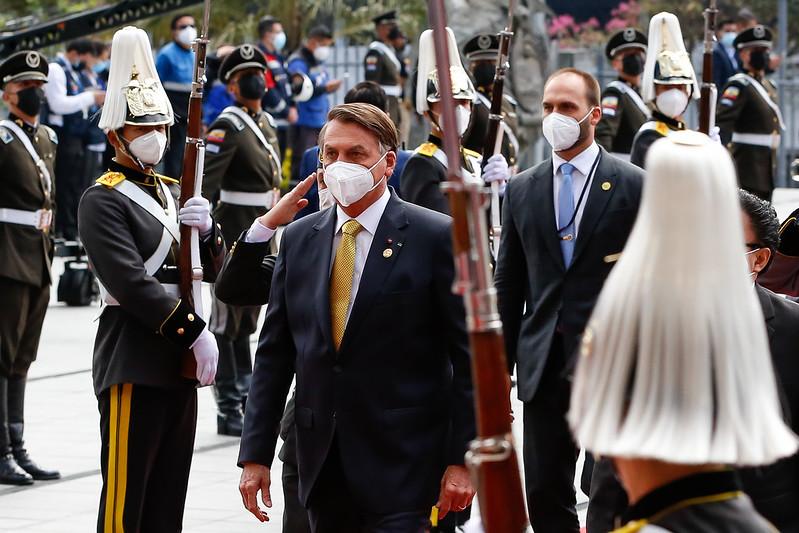 Cerimônia de Posse do Presidente do Equador, Guillermo Lasso