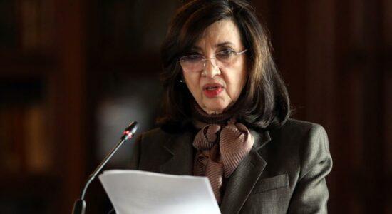 ministra das Relações Exteriores da Colômbia, Claudia Blum