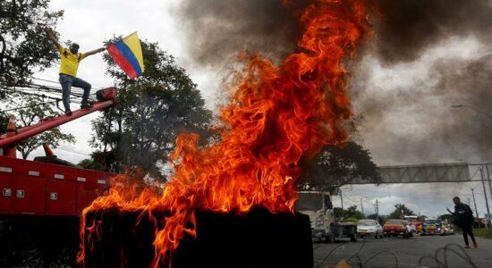 Protestos na Colômbia deixaram 19 mortos