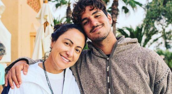 gabriel medina e sua mãe simone medina