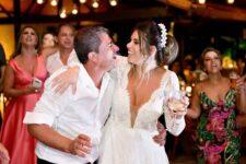 Casamento de Tom Veiga e Cybelle