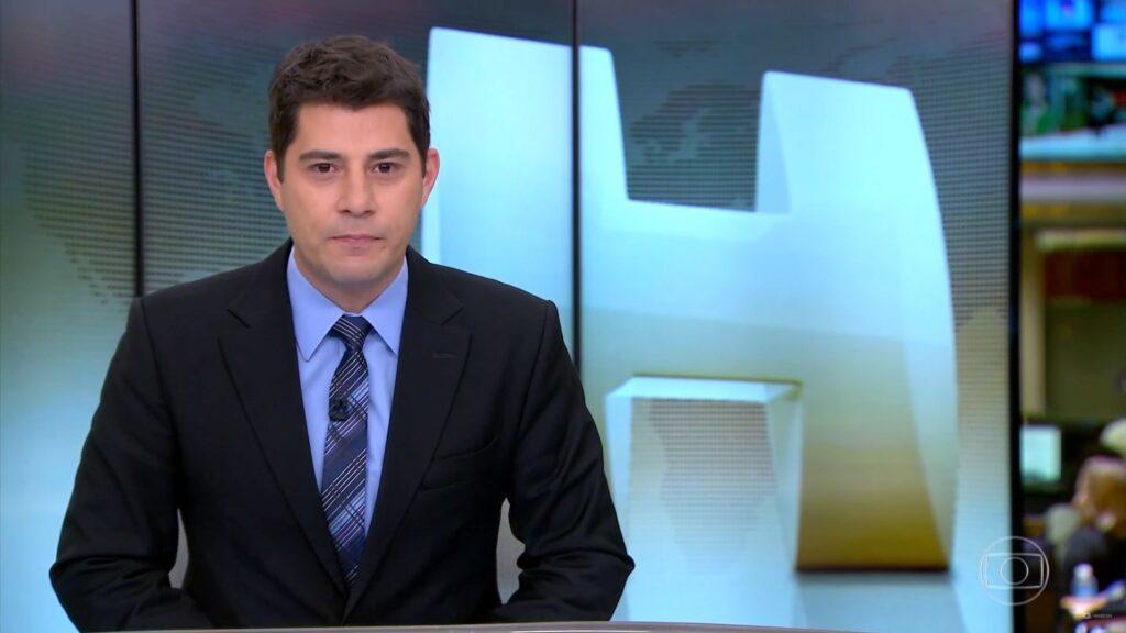 Evaristo Costa Jornal Hoje