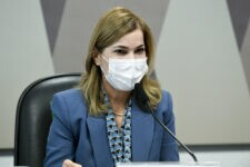 Mayra Pinheiro prestou depoimento na CPI da Covid