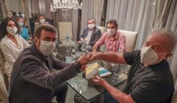 Lula recebe Freixo e conversa sobre pandemia e eleições