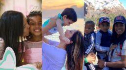 Emoção! Veja fotos de mães e filhos de cantoras gospel