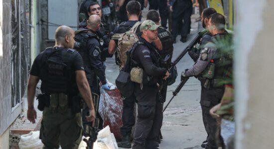 Ação policial no Jacarezinho