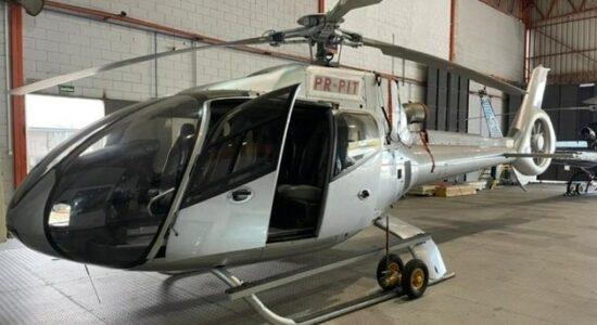 Helicóptero de André do Rap é incorporado a frota da Polícia Civil de SP
