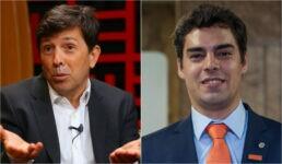 João Amoêdo e o deputado federal Tiago Mitraud